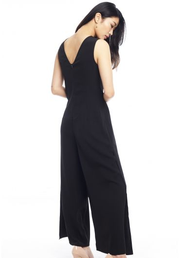 Convertible Wrap Jumpsuit