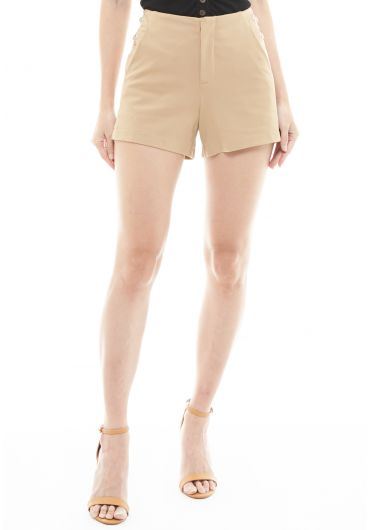 Tunnel Vision Side Eyelet Shorts