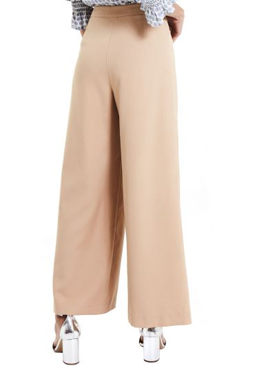 Buckled Wide Leg Pants
